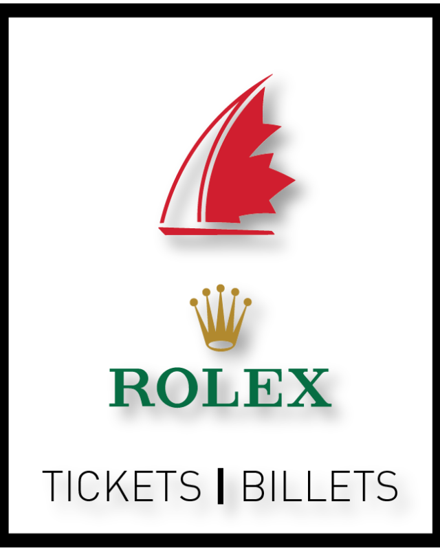 Sail Canada Rolex Sailor of the Year Awards Ticket - Single