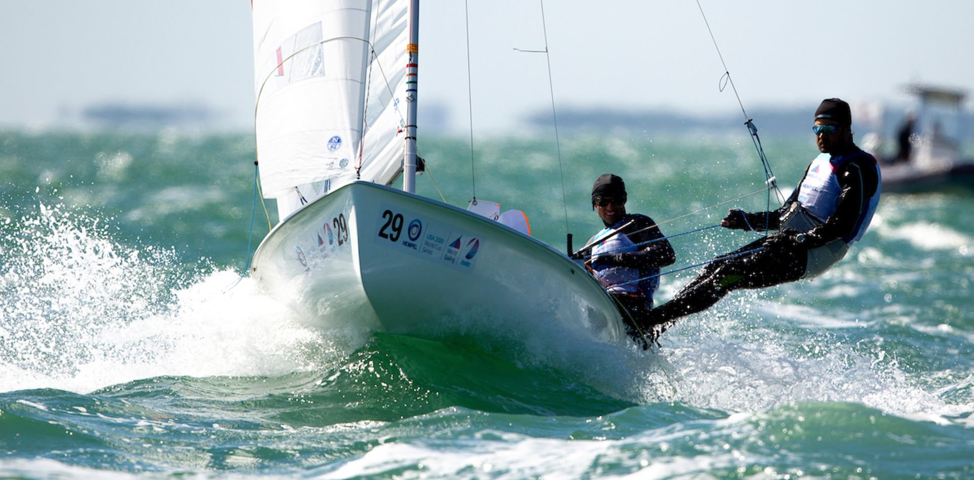 2020 Hempel World Cup Series Miami © Pedro Martinez / Sailing Energy 22 January, 2020.