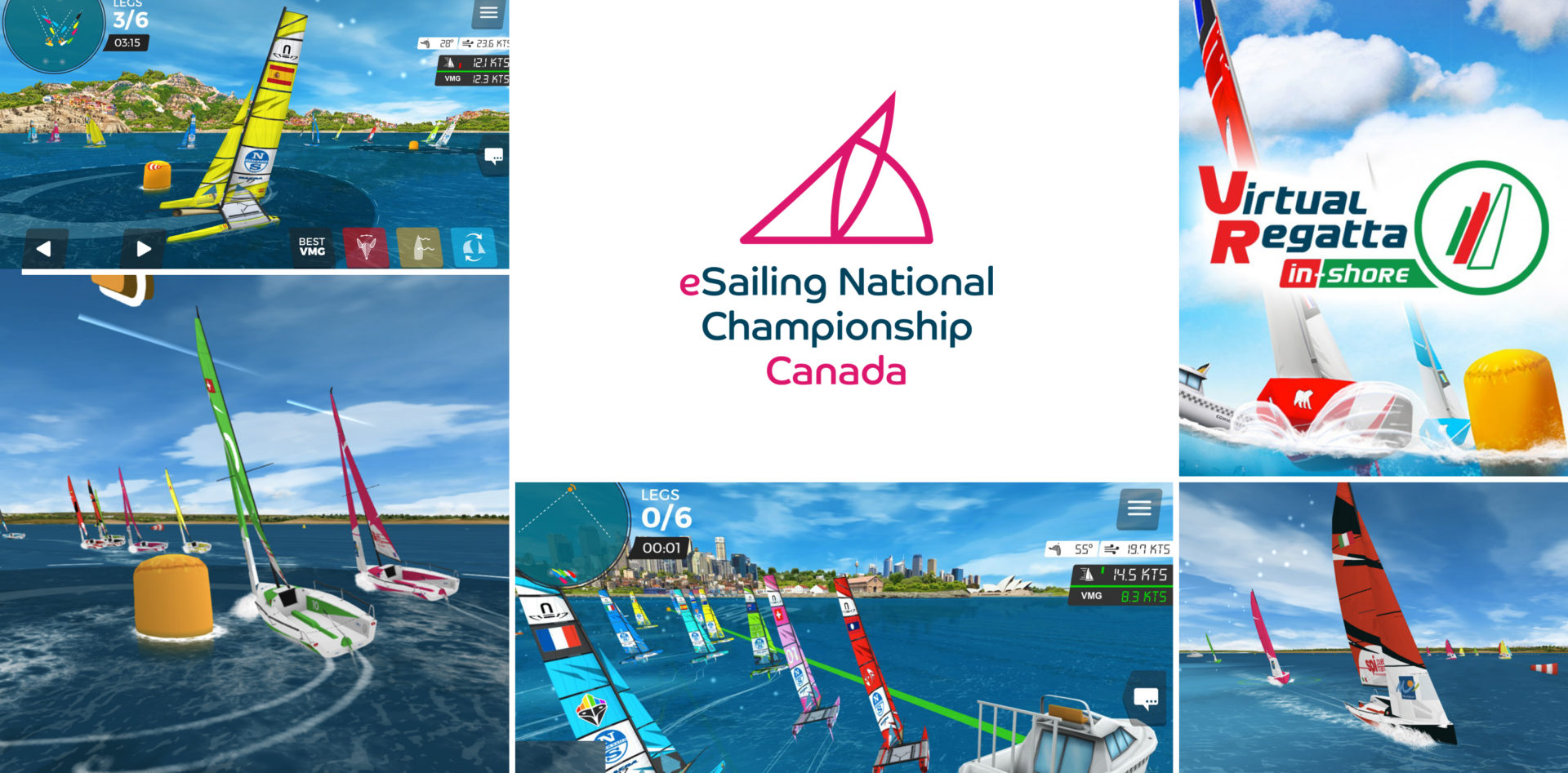 From Onwater to Online: Get ready for the Canadian eSailing Championships