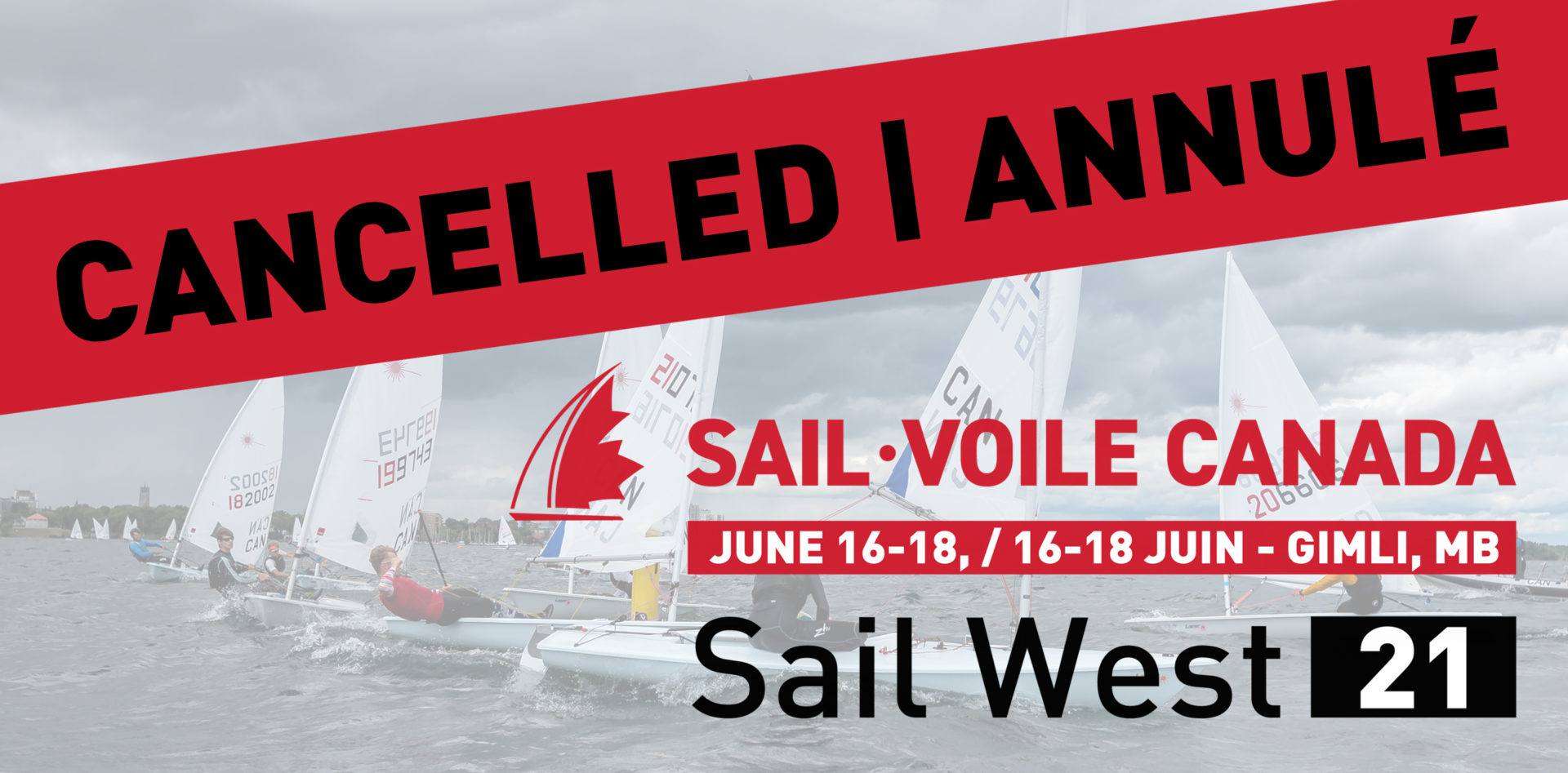 2021 Sail West cancelled