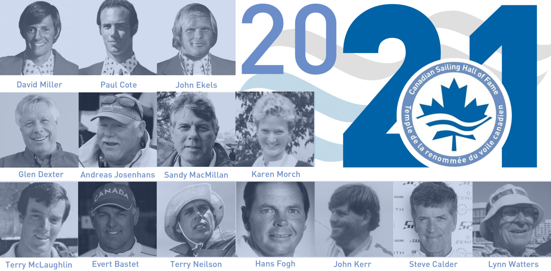 2020 Canadian Sailing Hall of Fame Inductions to be held October 3